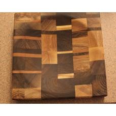 Ulu Cutting Board - Checkered Pattern